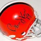 Bernie Kosar Signed Autographed Cleveland Browns Mini Helmet JSA