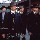 Kurt Russell, Val Kilmer, Sam Elliott & Bill Paxton Autographed Signed 11X14 Tombstone Photo BECKETT