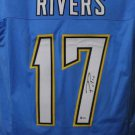 Phillip Rivers Autographed Signed San Diego Chargers Jersey BECKETT