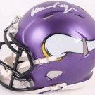 Alan Page Autographed Signed Minnesota Vikings Speed Mini Helmet JSA