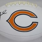 Khalil Mack Signed Autographed Chicago Bears Logo Football BECKETT