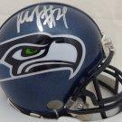 Marshawn Lynch Signed Autographed Seattle Seahawks Mini Helmet PSA