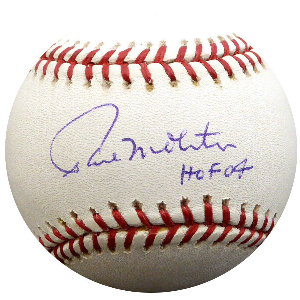 Paul Molitor Brewers Twins Autographed Signed Official Baseball TRISTAR