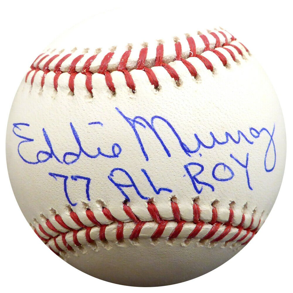 Eddie Murray Baltimore Orioles Signed Autographed Official Baseball PSA