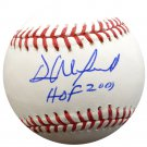 Dave Winfield Yankees Padres Signed Autographed Official Baseball PSA