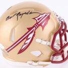Burt Reynolds Signed Autographed Florida State Seminoles Mini Helmet JSA