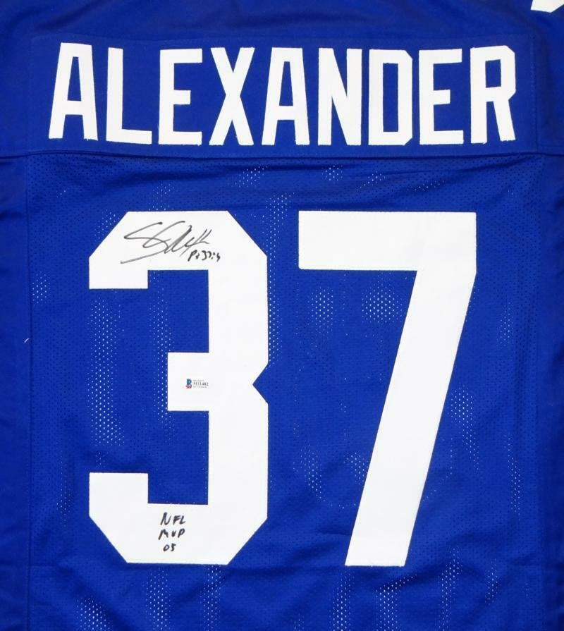Shaun Alexander Signed Autographed Seattle Seahawks Jersey BECKETT