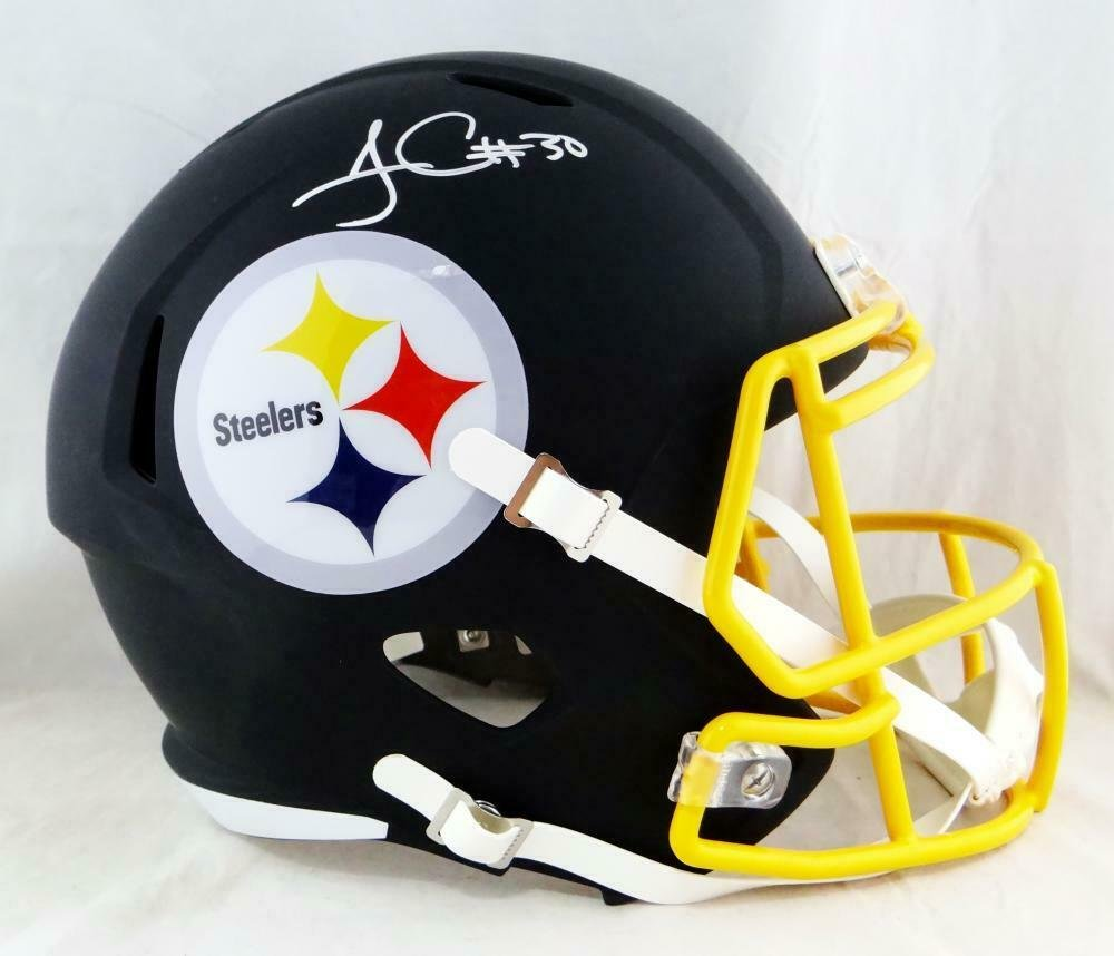 James Conner Autographed Signed Pittsburgh Steelers Full Size Helmet BECKETT