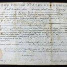 President Andrew Jackson Autographed Signed 1831 Land Grant Document PSA