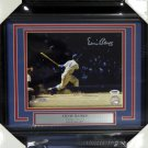 Ernie Banks Chicago Cubs Signed Autographed Framed 8x10 Photo PSA