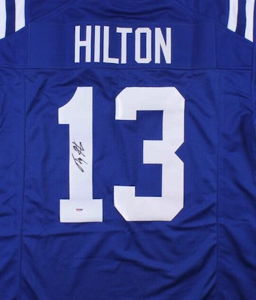 T. Y. Hilton Autographed Signed Indianapolis Colts Jersey PSA
