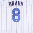 Ryan Braun Signed Autographed Milwaukee Brewers Jersey JSA