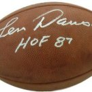 Len Dawson Chiefs Signed Autographed Official Football JSA