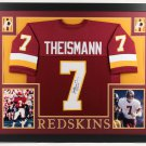 Joe Theismann Autographed Signed Washington Redskins Framed Jersey JSA