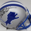 Billy Sims Autographed Signed Detroit Lions Mini Helmet BECKETT