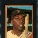Willie McCovey San Francisco Giants Autographed Signed 1962 Topps Card SGC