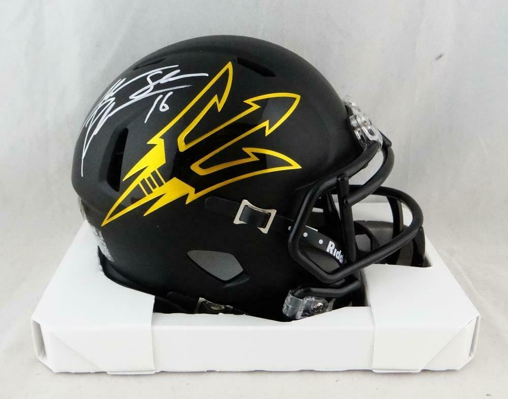 Jake Plummer Autographed Signed Arizona State Speed Mini Helmet BECKETT