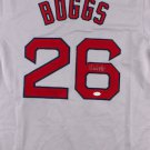 Wade Boggs Signed Autographed Boston Red Sox Jersey JSA