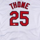 Jim Thome Signed Autographed Cleveland Indians Jersey JSA