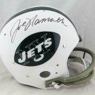 Joe Namath Autographed Signed Full Size New York Jets Throwback Helmet JSA