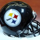 Hines Ward Autographed Signed Pittsburgh Steelers Mini Helmet BECKETT