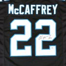 Christian McCaffrey Autographed Signed Carolina Panthers Jersey BECKETT