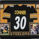 James Conner Autographed Signed Pittsburgh Steelers Framed Jersey BECKETT