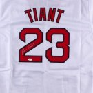 Luis Tiant Autographed Signed Boston Red Sox Jersey JSA