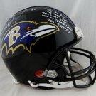 Ray Lewis Autographed Signed Baltimore Ravens FS Proline Helmet JSA