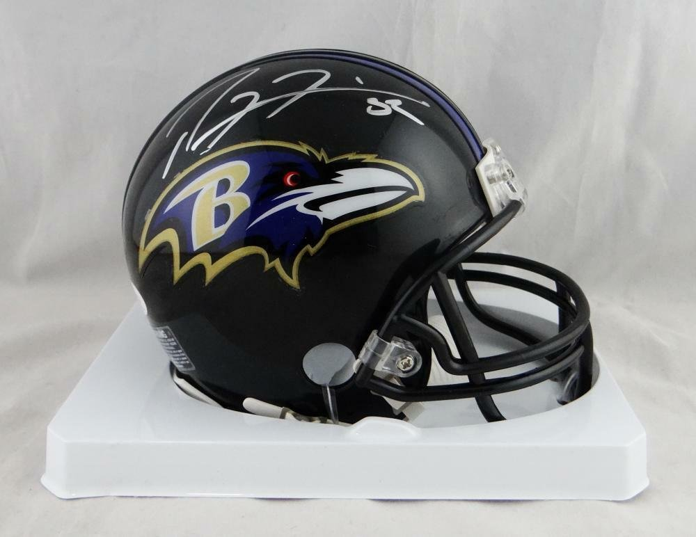 Ray Lewis Autographed Signed Baltimore Ravens Mini Helmet JSA