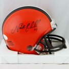 Nick Chubb Signed Autographed Cleveland Browns Mini Helmet JSA