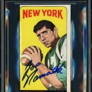 Joe Namath New York Jets Autographed Signed 1965 Topps Rookie Card BECKETT