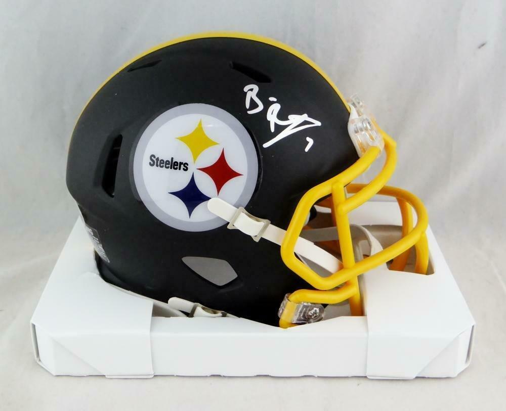Ben Roethlisberger Autographed Signed Pittsburgh Steelers Mini Helmet JSA
