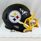 Ben Roethlisberger Autographed Signed Pittsburgh Steelers Mini Helmet JSA