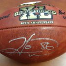 Hines Ward Steelers Autographed Signed SB XL Leather Football PSA