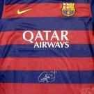 Neymar Jr. AutographedBarcelona Qatar Airways Nike Jersey PSA/DNA