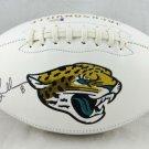 Mark Brunell Autographed Signed Jacksonville Jaguars Logo Football BECKETT