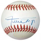 Willie Mays Giants Signed Autographed Official NL Baseball PSA