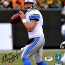 Matthew Stafford Autographed Signed Detroit Lions 8x10 Photo PSA