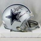 Danny White Autographed Signed Dallas Cowboys Mini Helmet JSA