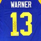 Kurt Warner Autographed Signed St. Louis Rams Jersey BECKETT