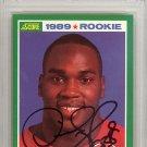 Derrick Thomas Chiefs Autographed Signed 1989 Score Rookie Card PSA