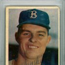 Don Drysdale Dodgers Signed Autographed 1957 Topps Rookie Card PSA