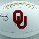 Kyler Murray Signed Autographed Oklahoma Sooners Logo Football BECKETT