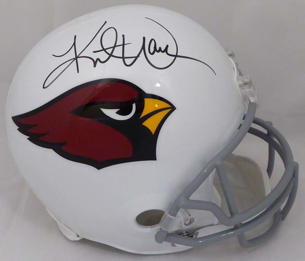 Kurt Warner Autographed Signed Arizona Cardinals Full Size Helmet BECKETT