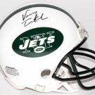 Vinny Testaverde Signed Autographed New York Jets Mini Helmet MAB