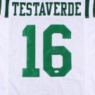 Vinny Testaverde Signed Autographed New York Jets Jersey JSA