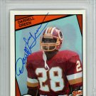 Darrell Green Redskins Autographed Signed 1984 Topps Rookie Card PSA