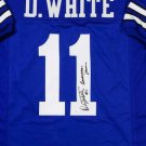 Danny White Autographed Signed Dallas Cowboys Jersey JSA