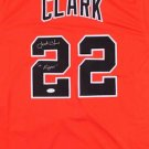 Jack Clark Autographed Signed San Francisco Giants Jersey JSA